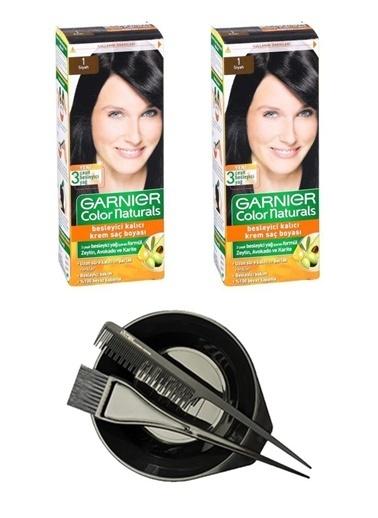 Garnier Garnier 2 Adet Color Naturals Saç Boyası 1 + Saç Boyama Seti Renksiz